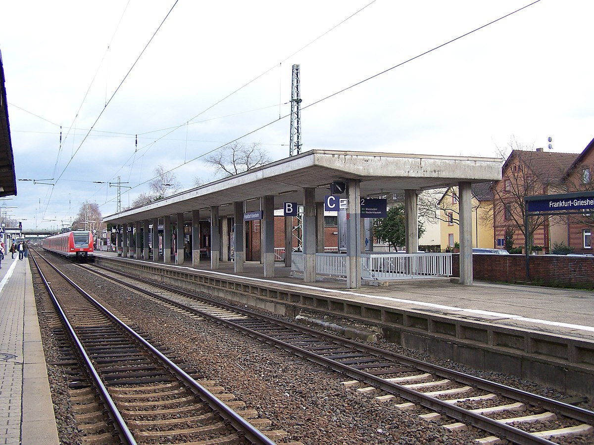 Bahnhof Frankfurt Griesheim Wikipedia