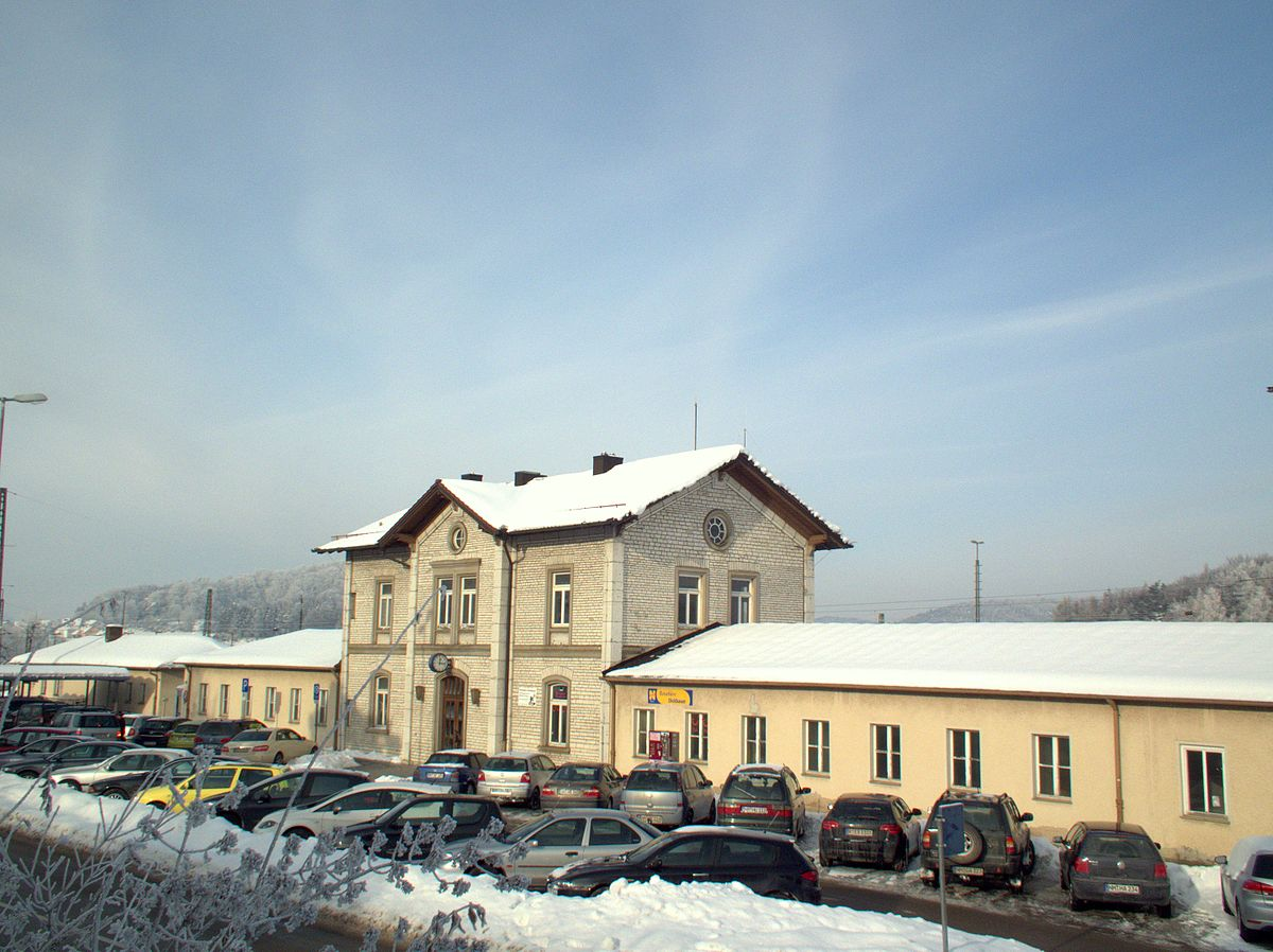 Parsberg Bahnhof