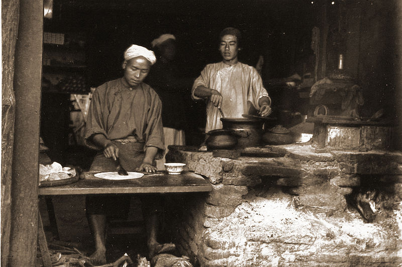 File:Baker's shop, Mandalay Chinatown.jpg