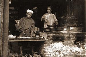 Baker's shop, Mandalay Chinatown