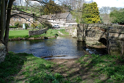 Bakewell Ford (geograph 3432987)