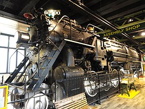 4-10-2 - Baldwin 60000 in the Franklin Institute Science Museum