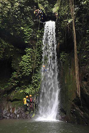 Canyoning - Canyoning in Gitgit, Bali, Indonesia
