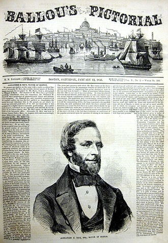 Maturin Murray Ballou - Ballou's Pictorial, January 12, 1856