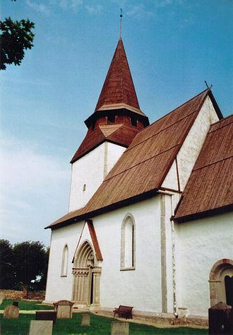 Bäl Church - Image: Bals kyrka Gotland 2010 11