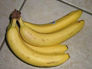 He lücht - Image: Bananen