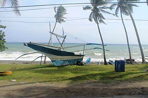 Gasan, Marinduque - Banca at the seashore, Gasan