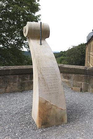 Valentin Rathgeber - Rathgeber-Memorial, Banz Abbey