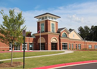 Panthersville, Georgia - The Barack H. Obama Elementary Magnet School of Technology in Panthersville