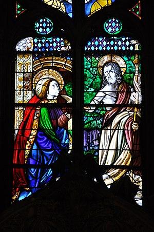 Bartolomé Bermejo - Bartolomé Bermejo (design)- Noli me tangere, Barcelona Cathedral