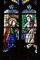 Barcelona, Catedral, vitrall del Noli me tangere, obra del vitraller Gil Fontanet a partir d'un cartró del pintor Bartolomé Bermejo (1495) amb reformes posteriors (10908101806).jpg