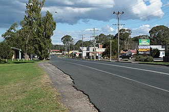Bargo, New South Wales - Bargo township, on Remembrance Drive