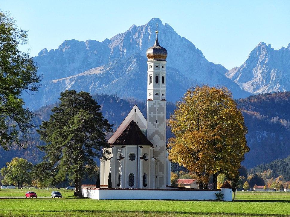 Baroque Church of Saint-Coloman - panoramio