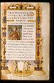 """Bartolomeo Sanvito - Portrait of Petrarch in the Incipit Letter """"N"""" - Google Art Project.jpg"""