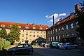 Bartoszyce, ul. Limanowskiego. Z prawej strony budynek Powiatowego Centrum Pomocy Rodzinie, a na przeciwko budynek Domu Dziecka. - panoramio.jpg