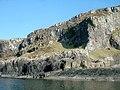 Basalt columns, west coast of Kerrera - geograph.org.uk - 1754060.jpg