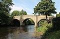 Baslow road bridge over river Derwent (geograph 3125886).jpg