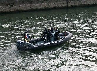 Paris Police Prefecture - Police boat