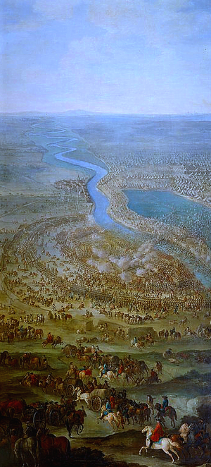 Mustafa II - Battle of Zenta