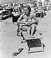 Beach, bathing suit Fortepan 7239.jpg
