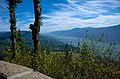 Beacon Rock and the Gorge from Nancy Russell Overlook-Columbia River Gorge (24758308609).jpg