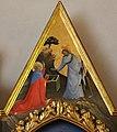 Beato angelico, pala strozzi della deposizione, con cuspidi e predella di lorenzo monaco, cuspide 01.JPG