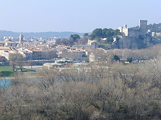 Beaucaire, Gard - View over Beaucaire