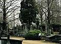 Beboomde en ommuurde begraafplaats met hekken langs de straat , aangelegd in 1796 en later meermaals - 374669 - onroerenderfgoed.jpg
