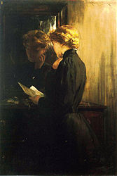 Beckwith James Carroll The Letter.jpg