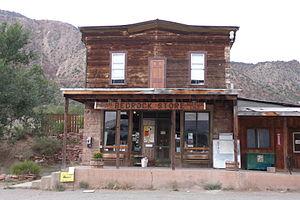 Bedrock, Colorado - Bedrock's general store.