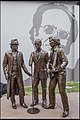 Bee Gees Statue Redcliffe Queensland-1 (21078752374).jpg