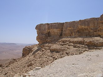 Tel Haror - View of the Negev Desert near Beersheba