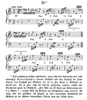 Für Elise - First edition, 1867