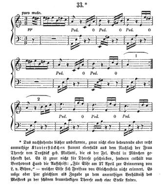 Für Elise - First edition, 1867