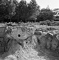 Beit yerah Archeologische resten met op de voorgrond een deel van een waterlei…, Bestanddeelnr 255-4131.jpg