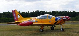 Belgian air force SIAI-Marchetti SF260.JPG