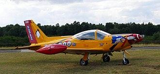1st Wing (Belgium) - Image: Belgian air force SIAI Marchetti SF260