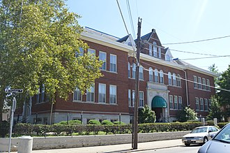 National Register of Historic Places listings in Campbell County, Kentucky - Image: Bellevue High School, Center and Washington