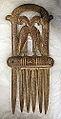Benen kam met vogelfiguren uit de Schelde (750-900), Archeologisch Museum Hamme.JPG