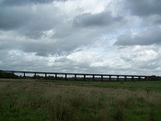 Great Northern Railway (Great Britain) - The Bennerley Viaduct on the Awsworth Junction to Derby Branch in 2006