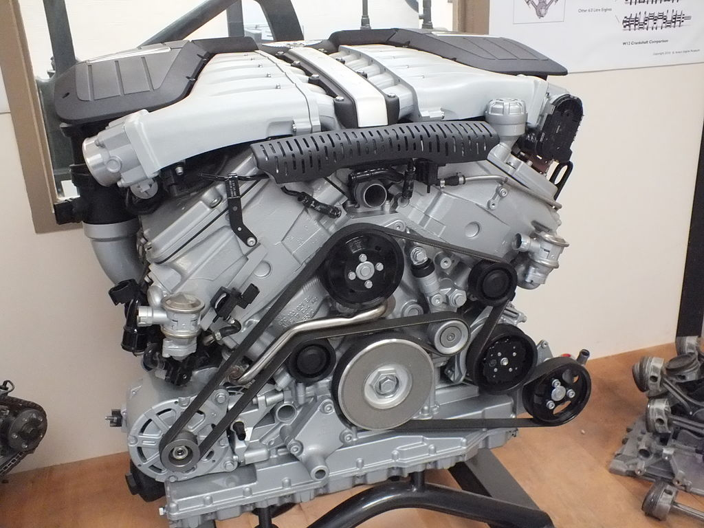 Bentley W12 Engine Diagram