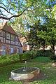 Bergen auf Rügen - Klosterhof (Brunnen) (11425645305).jpg