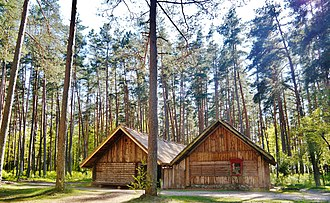 Russians in Latvia - Russian peasant's house built in the second half of the 19th century in Jekimāni village, Rēzekne District, Latgale, partially reconstructed in 1920 and currently located at The Ethnographic Open-Air Museum of Latvia