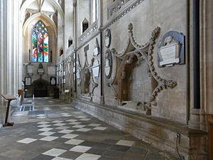 Baron Berkeley - Image: Berkeley Tombs St Augustines Bristol