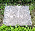 Berlin, Mitte, Invalidenfriedhof, Feld F, Grab Albert von Riedel, Restitutionsstein, 2002.jpg