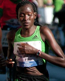 Flomena Chepchirchir Kenyan long-distance runner