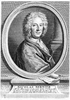 Nicolas Bernier - Nicolas Bernier, engraving by Étienne Ficquet
