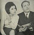Berta Ambrož in Mojmir Sepe 1966 1.jpg