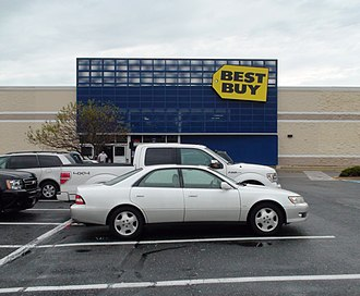 Best Buy - A Best Buy store in Germantown, Maryland that opened in 2002.