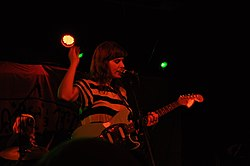 Bethany Consentino of Best Coast January 2011.jpg